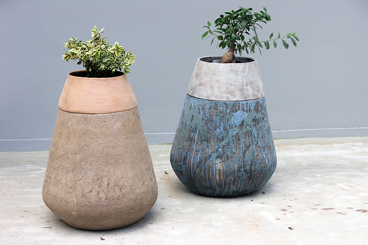 Two pieces Pot