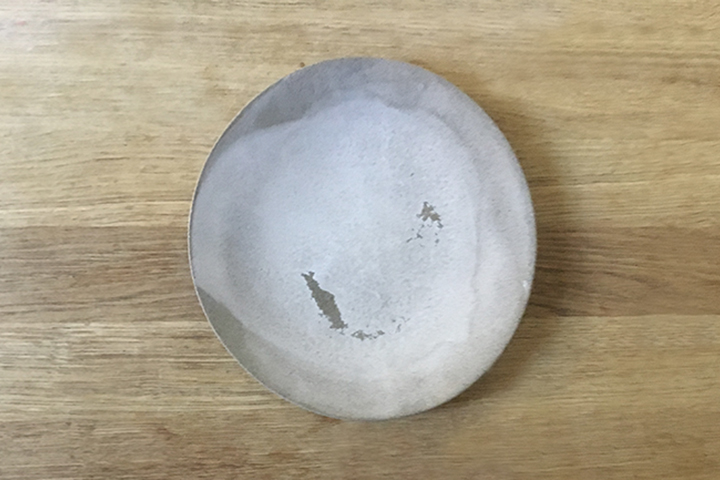 Plate, grey