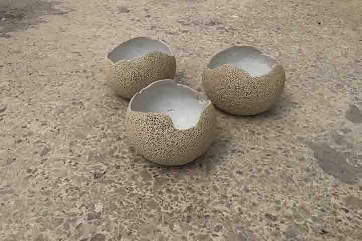 Porous bowl